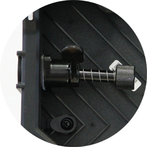 TOOL-LESS LOCKING SYSTEM